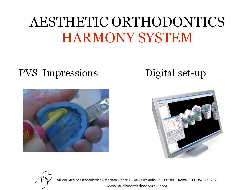 Aesthetic Orthodontics Harmony System - Studio Medico Odontoiatrico Donzelli